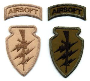 Airsoftové nášivky