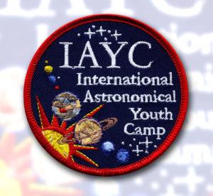 našivka pro Mezinárodní Astronomický Tábor pro mladé