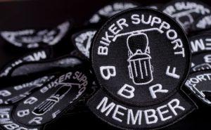 vysivka pro Nadaci britských motorkářů