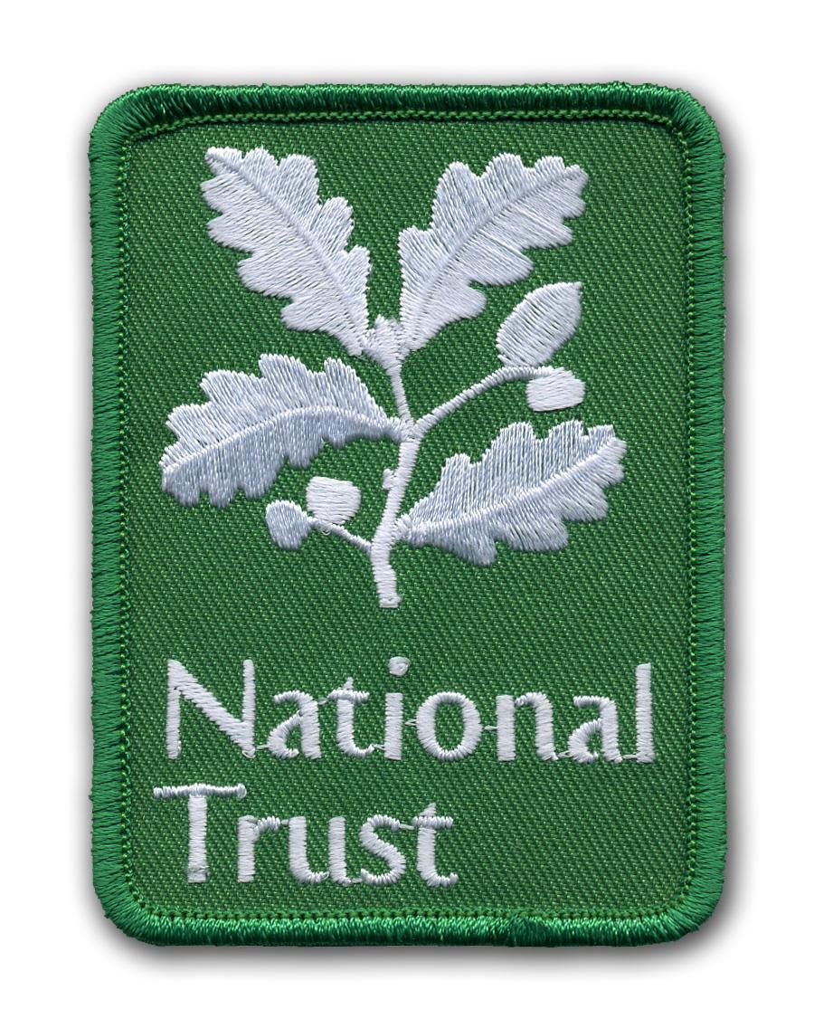 Nášivky pro National Trust