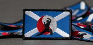 vysivka pro Skotskú asociaci bojových umění