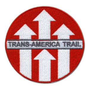 Trans America Trail našivka