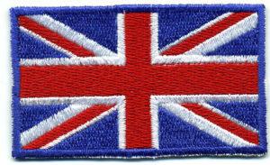 vyšitá Vlajka Velké Británie