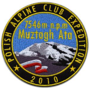 nášivka pro Expedice Muztagh Ata 2010