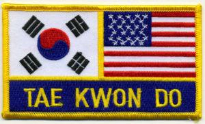 vysivka Tae Kwon Do